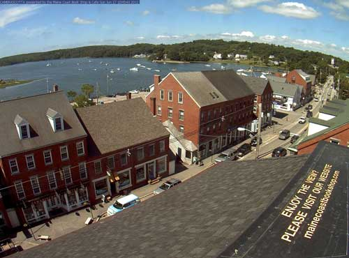 Damariscotta Maine Webcam