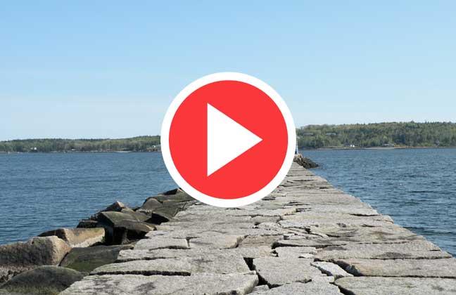 Rockland Maine Breakwater Webcam [VIDEO]