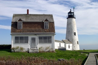 Wood Island Lighthouse Webcam [VIDEO]